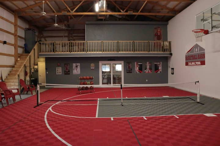 Basketball (and Pickleball) Barn