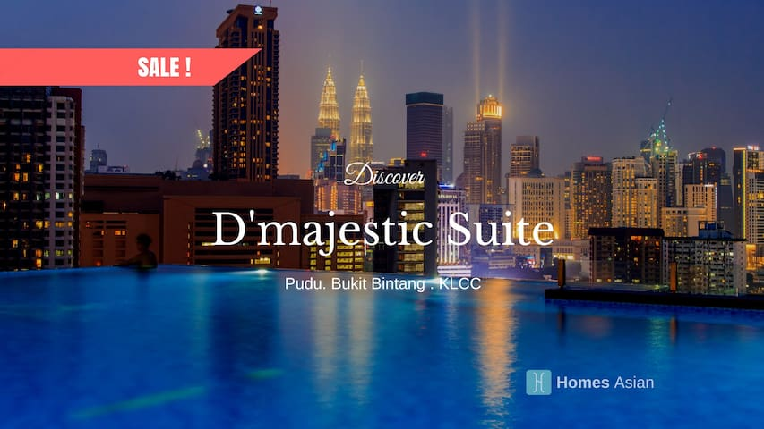 D163 D'majestic Suite Bukit Bintang, KLCC