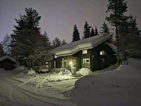 Naavakolo - Cozy log cabin near to the Levi center