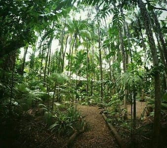 Rainforest Retreat. Quiet Room. - Coconut Grove - Hus