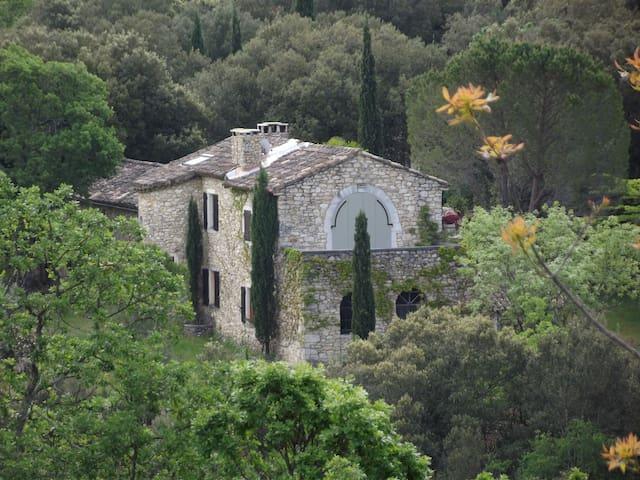 Grosses Landhaus LA VERDIERE - Montclus - Villa