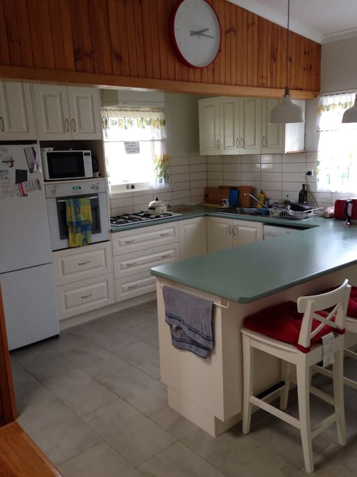 The re done kitchen