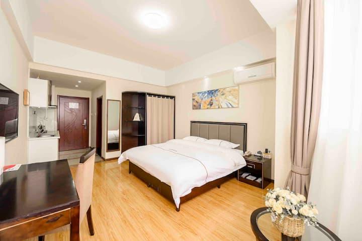 蜀山地铁2号线科学大道长短租商务白领精装酒店式公寓