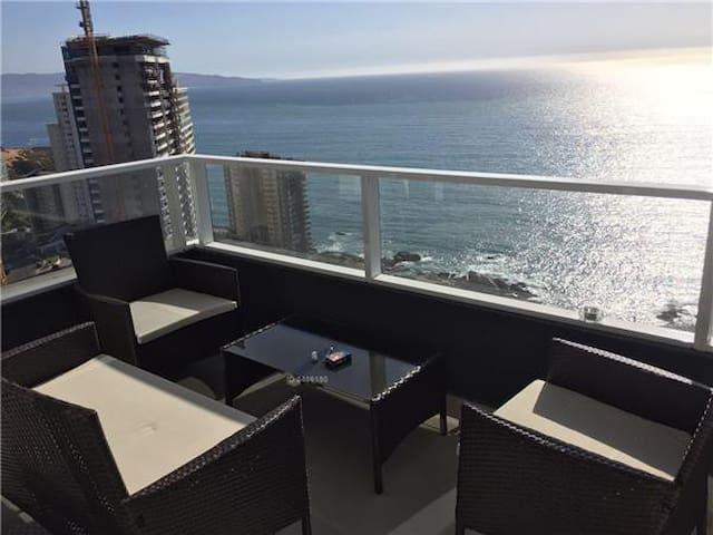 Departamento gran vista al mar ConCon