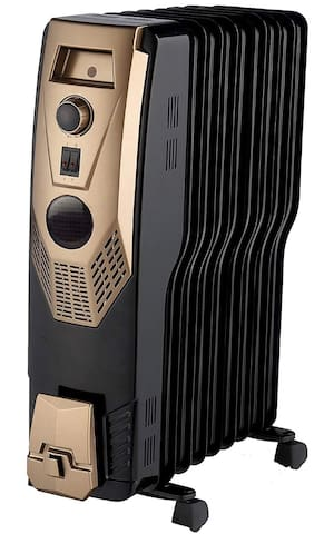 Radiator oil room heater