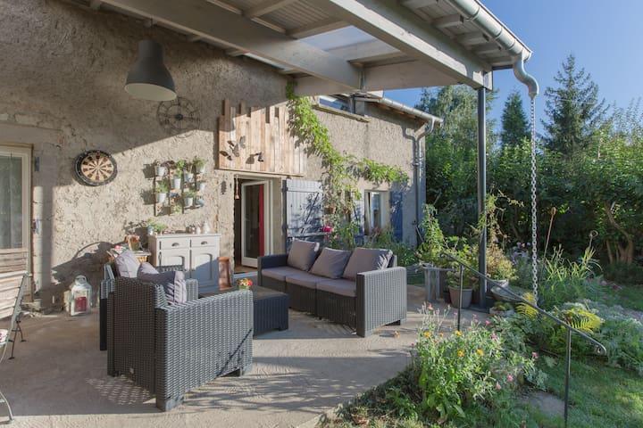 Chambre dans site calme champêtre - Pommérieux, Alsace-Champagne-Ardenne-Lorraine, FR - Casa
