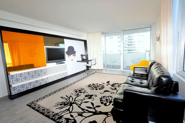 1100 West Suite City View Balcony 1.5 Bath 02L8 - Miami Beach - Lägenhet