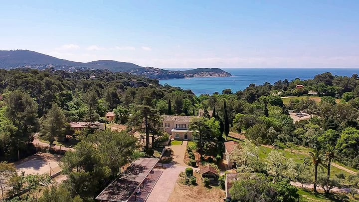 Luxury property 300m2/4Ha! Sea view French Riviera
