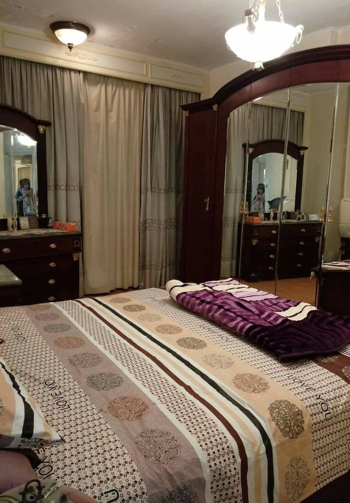 Fancy appartment in el Zamalek  with  Nile Viewing
