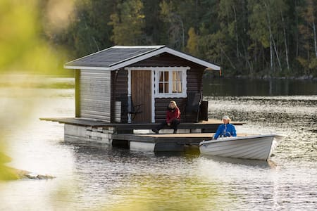 Explore Swedish nature in our floating cottage #2