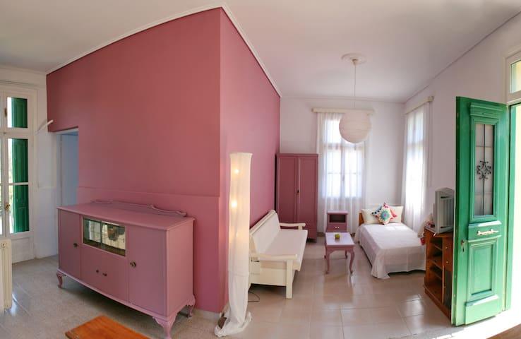 Άνετα ειδυλλιακά studio στην παραλία θερμής - Lesbos Prefecture - House