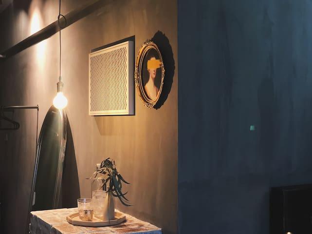 杉杉in 象工业复古暗黑系chic room