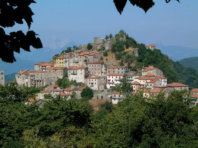 17th century Mountain Top Artisan House sleeps 5 - Montefegatesi - House