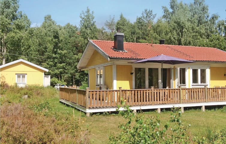 Holiday cottage with 3 bedrooms on 80m² in Ljusterö