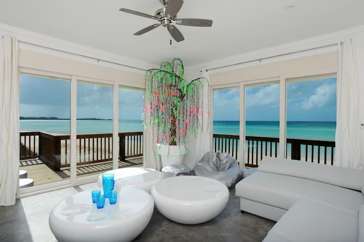 Luxurious Private Villa, Pink Sand Caribbean Beach