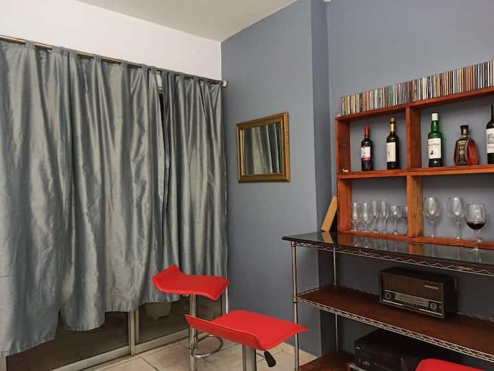 Apartamento en un lugar tranquilo y armonioso.