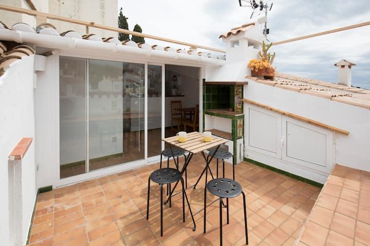 Duplex, terrace and sea views CDQ