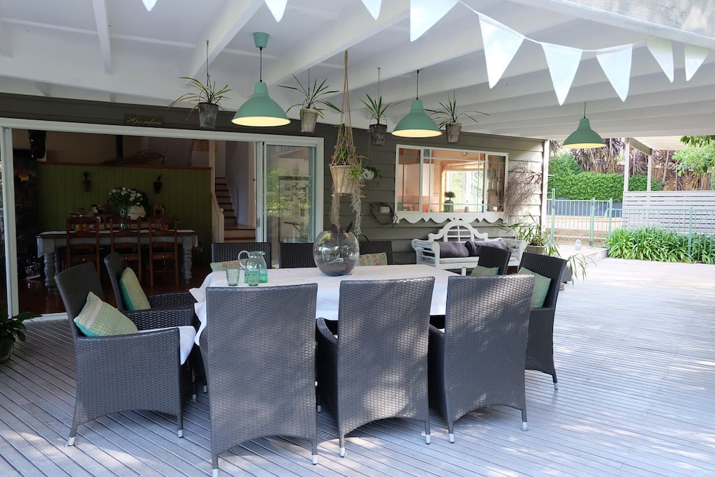 Large wrap-around verandah to enjoy alfresco dining.
