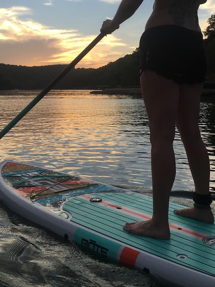 Walk on water SUP Arkansas