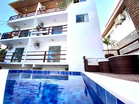 Flats MorrodeSP-Standard-40m Praia & Vila