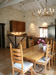 Quercy stone house with private swimming pool - Bourg-de-Visa - Talo