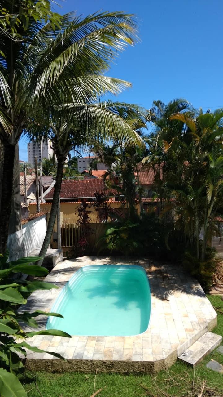 Praia do Sonho, Itanhaém SP Um paraíso c piscina