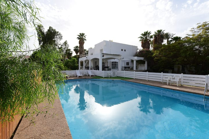 Private Master bedroom # 1 Red Sea Lucky's Villa