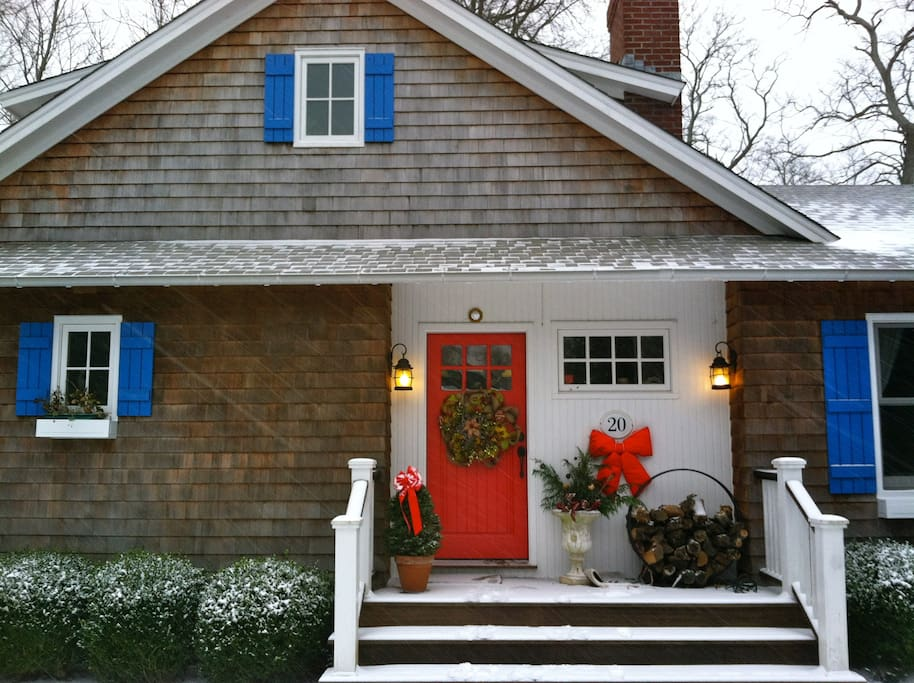 Winter Holidays in our Cozy Retreat