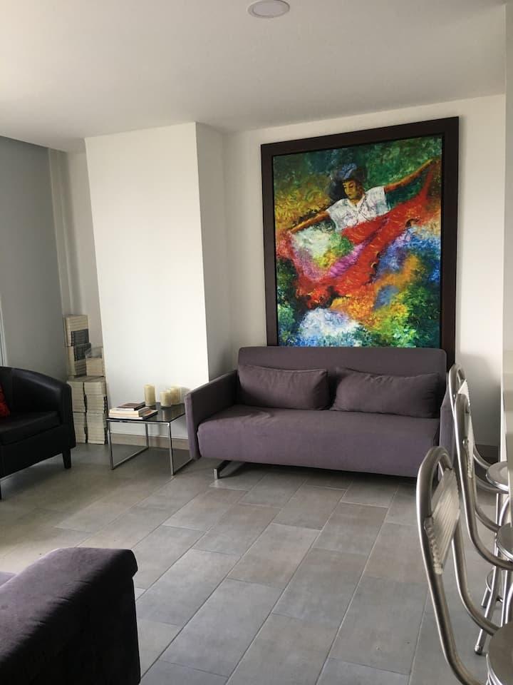 Apartamento excelente ubicación y zona tranquila
