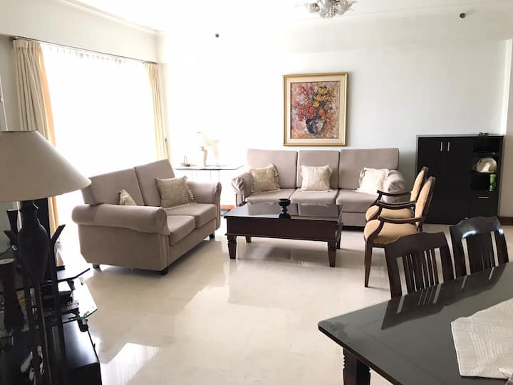 Exclusive furnished Apt near Kota Kasablanka Mall
