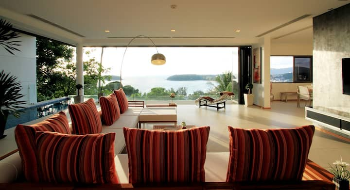 The Heights Phuket Penthouse 3 bedroom Magnificent sea view