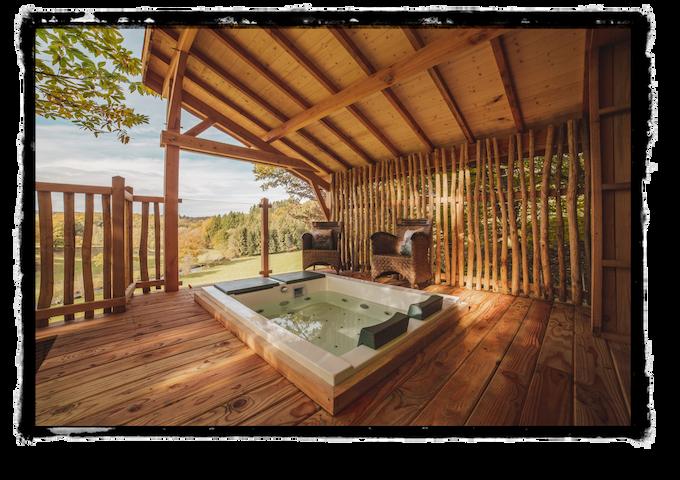 Cabane Carrément Perchée Spa & Sauna