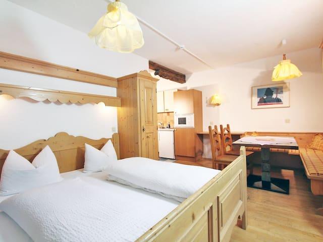 1-Zimmer-Studio im Appartementhaus Pitztal für 3 Personen - Sankt Leonhard im Pitztal - Leilighet