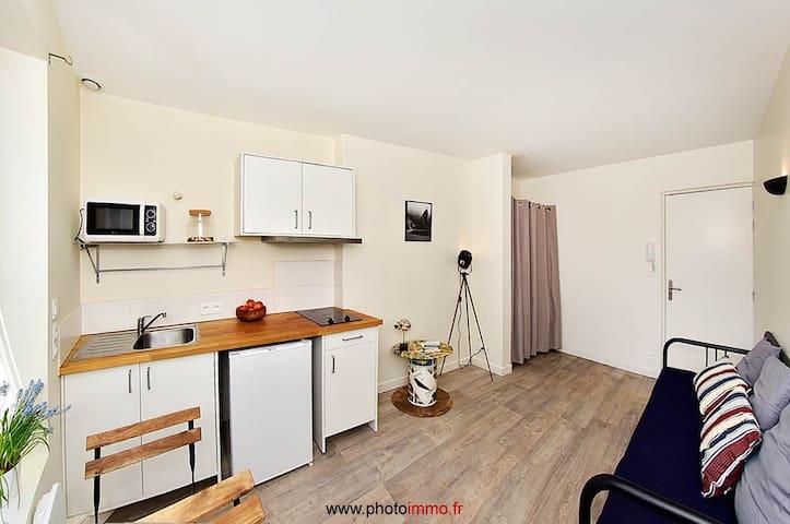 Beau studio Place de Jaude - Hyper centre - Clermont-Ferrand - Daire