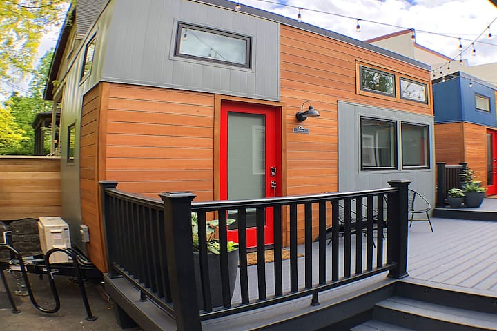The Henry Tiny Home at Slabtown Village