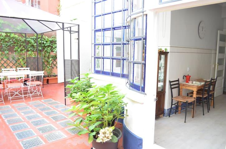 Precioso piso con terraza en centro - A Coruña - Departamento