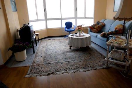 2 Zi Apt mit atemberaubendem Meerblick am Ozean - Puertito - Apartment