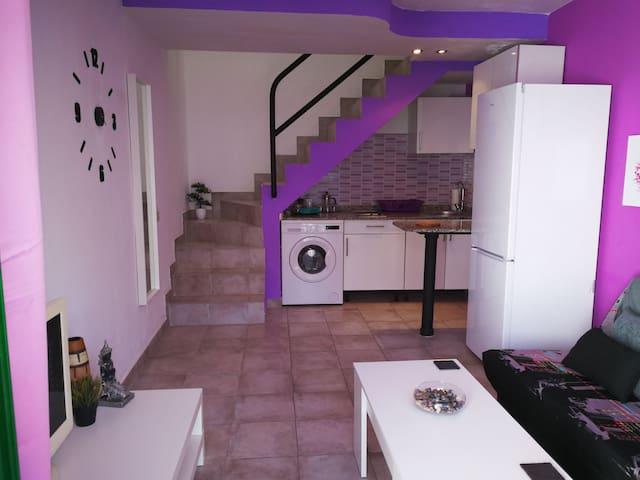 Modern and homely split level duplex in Maspalomas