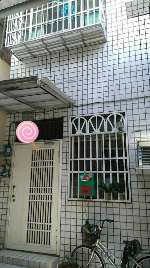 N. D. House X 彰化民宿(1人) 套房 商務辦公、背包客旅遊、深度旅遊、師大學區!!!