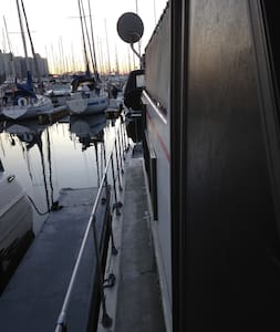 Rustic house boat in Marina Del Rey - Marina del Rey - Boot