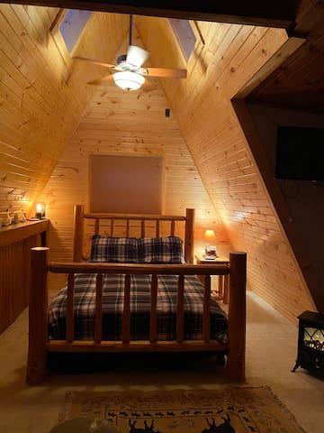 Remodeled loft area