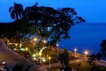 Rizal Boulevard at night