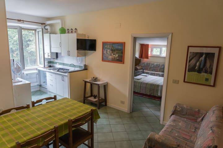 Casa Sullavalle - appartamento verde