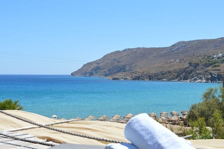 STUDIO WITH SEA VIEW BY THE BEACH  - Mykonos