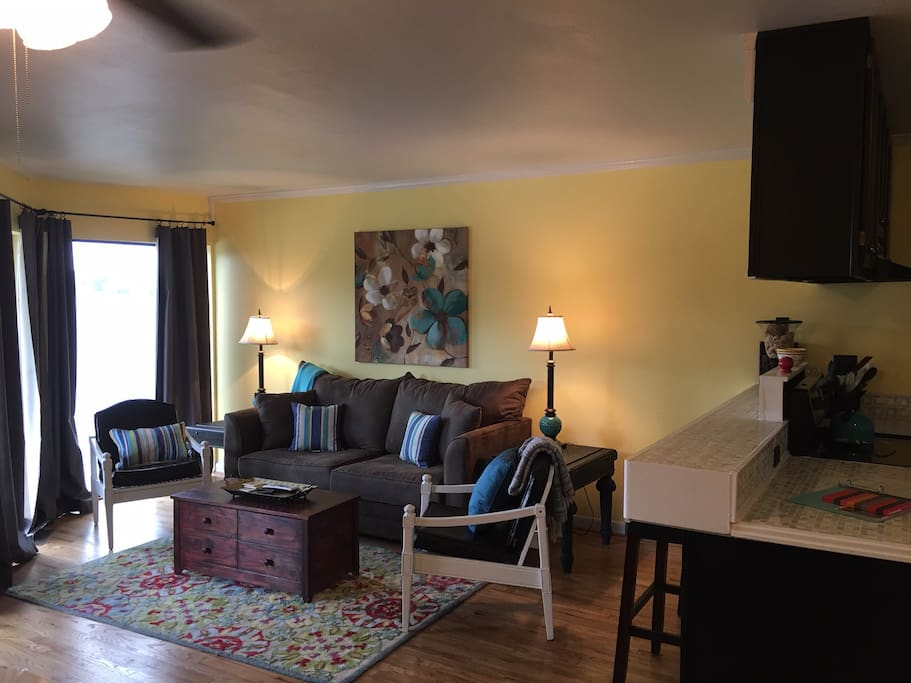 Living Room Lake View