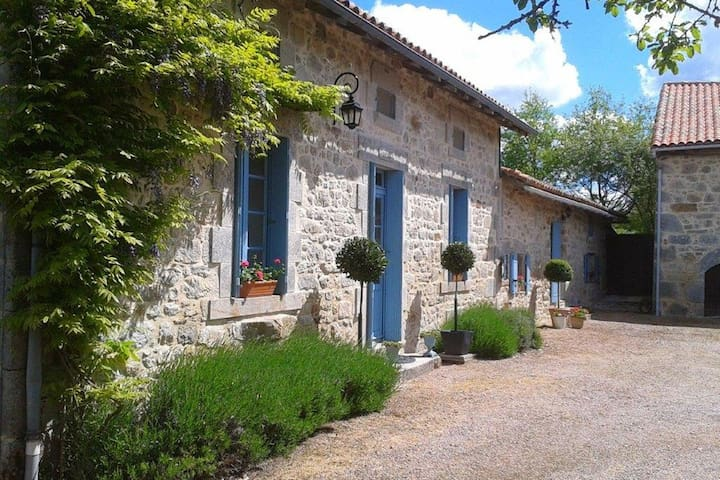 La Ferme Du Noyer - Farmhouse & Gite - Marval - บ้าน