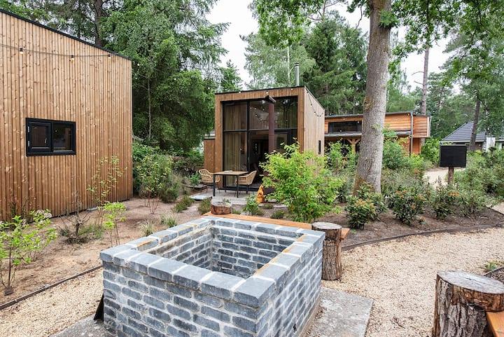 Toll designtes Tiny House für zwei in der Veluwe