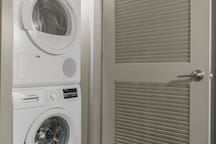 Washer / Dryer inside the apartment