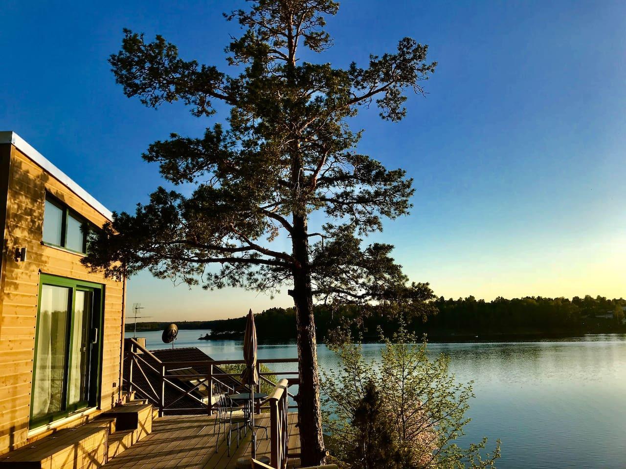 Small studiohouse, panoramic seaview,large terrace