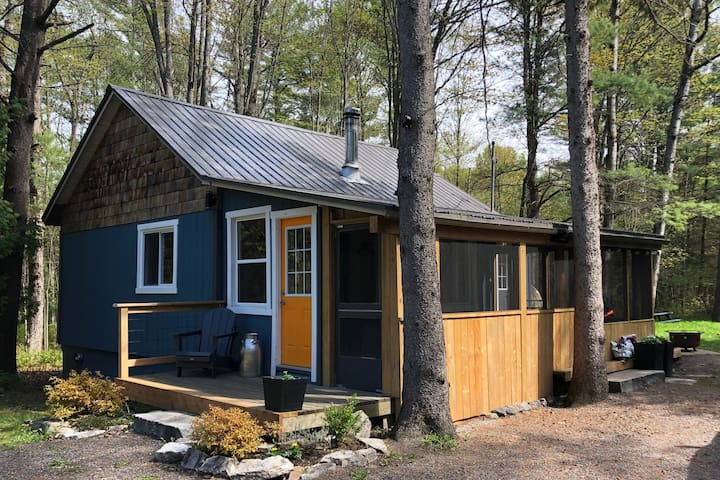 Muskoka Cabin & Cedar Sauna - only 1:45 from TO!
